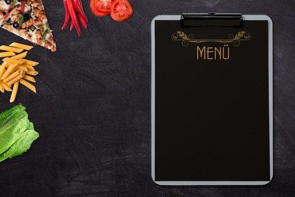 vantaggi menu elettronico